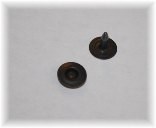 Black Oxide Jean Ring Rivet - Package of 12