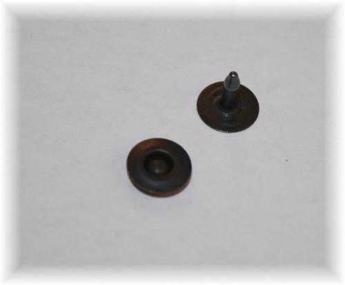 Black Oxide Jean Ring Rivet - Package of 12