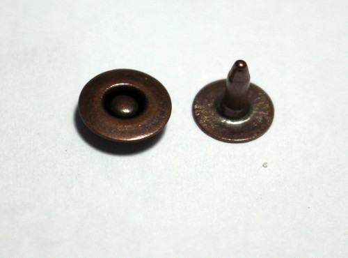 Copper Oxide Light Jean Ring Rivet - Package of 12