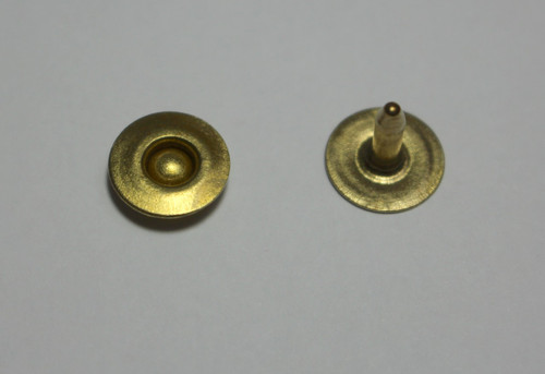 Brass Ring Rivet | sewing jeans