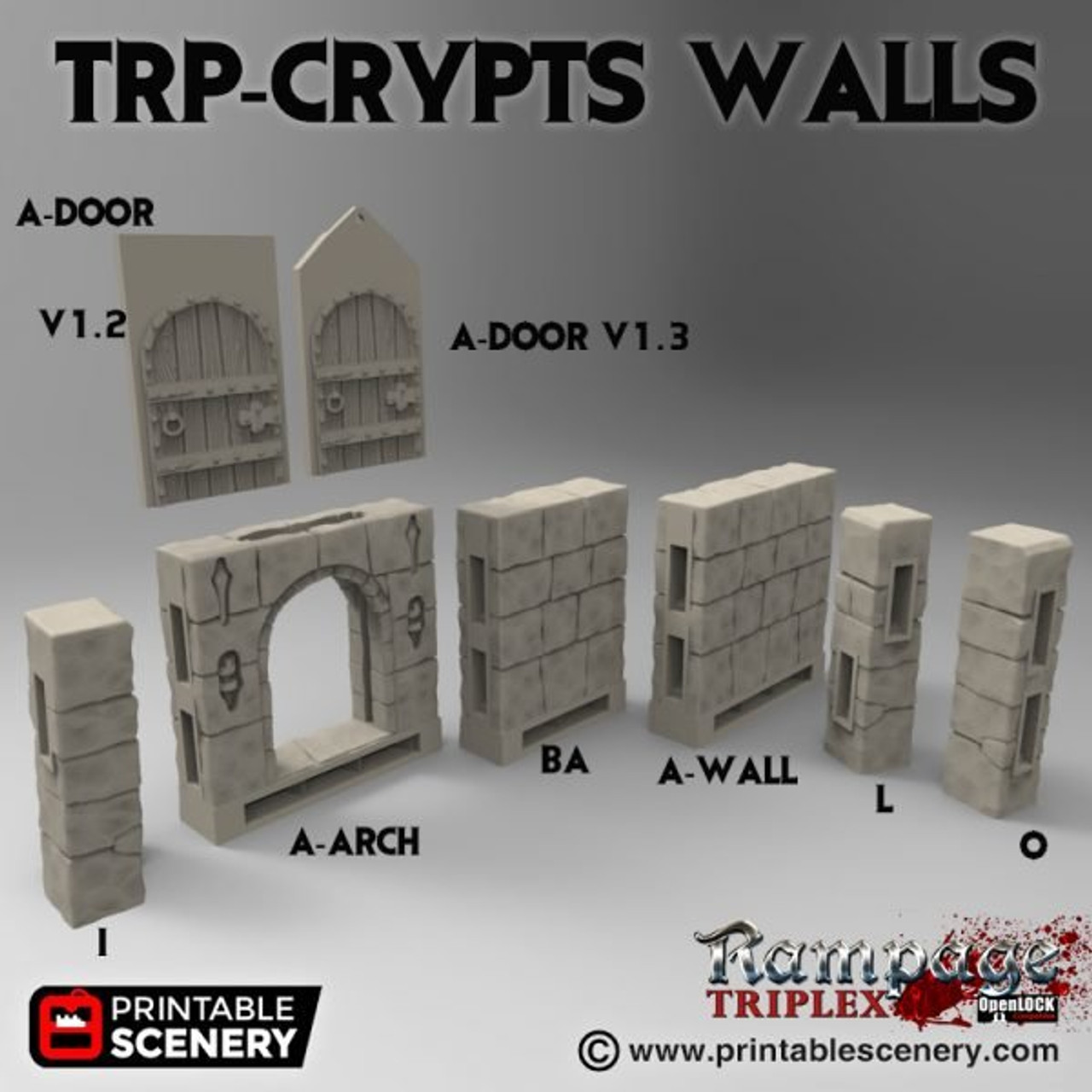 TRP-Crypt Walls