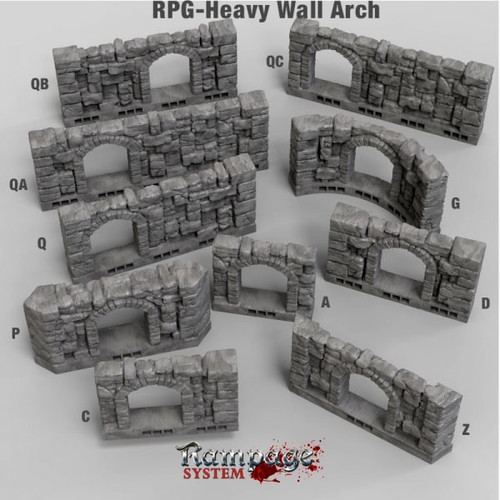 Heavy Wall Arch