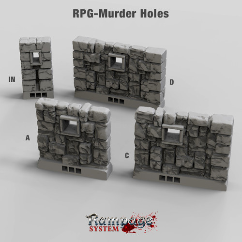 Murder Hole Walls