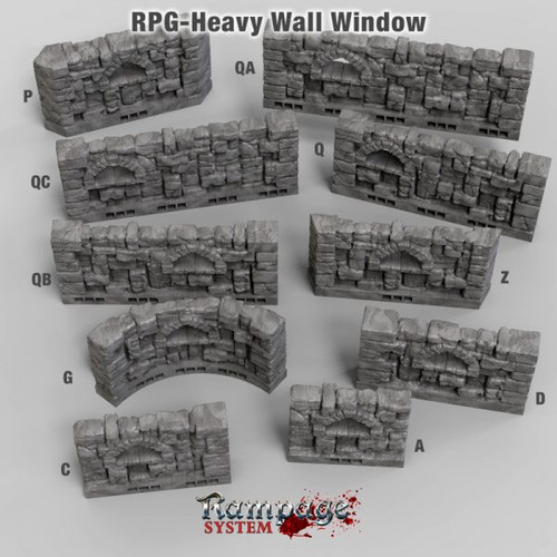 Heavy Wall Windows