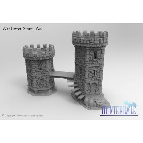 Wartower Stairs and Cross Bridge Kit