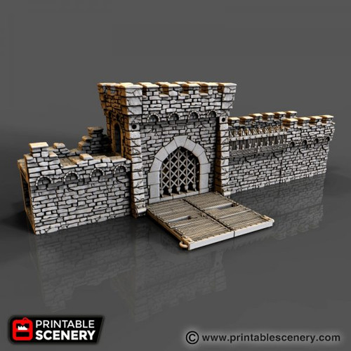 Dwarven Mine Enterance - Grym Forge Ltd