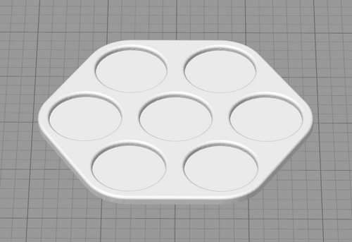 7 Unit by 25mm Movement Tray