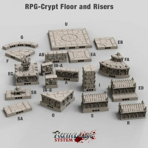 Crypt Floors and Risers