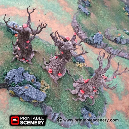 Six Gloomwood Trees