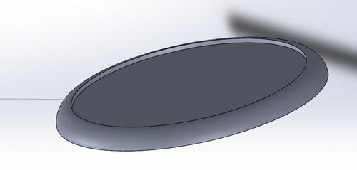 60mm Round Base with inset