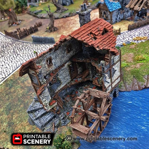 Ruined Water Mill