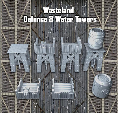 Wasteland Defence and Water Towers