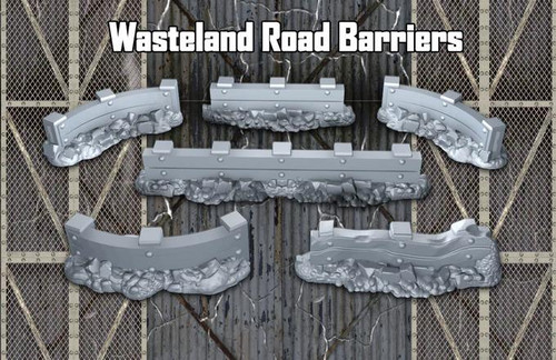 Wasteland Road Barriers