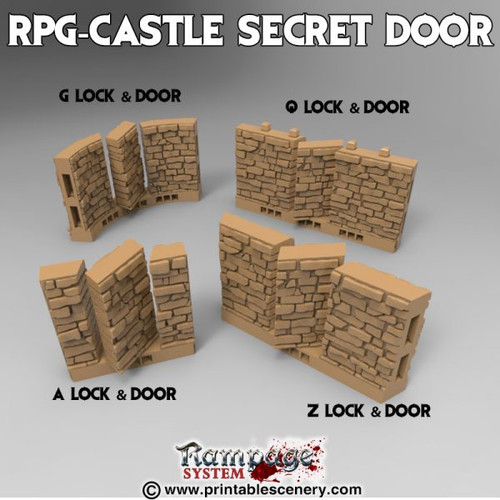 Castle Secret Door