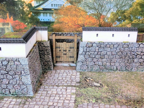 Samurai Castle Walls Set