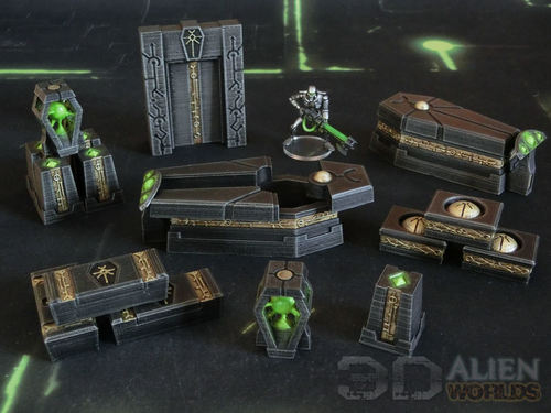 Necrontyr KillTeam Arena Accessories