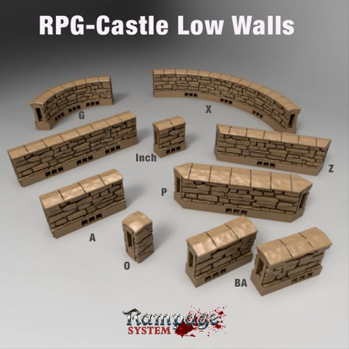 Castle Low Walls