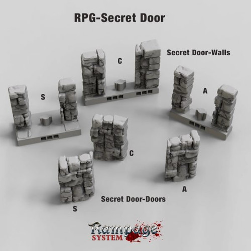 Secret Doors - Stone Wall
