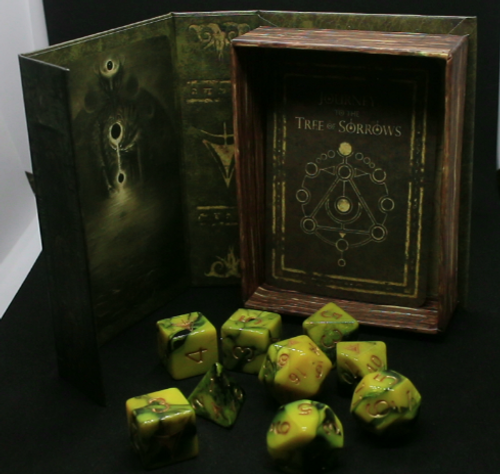 Kraken - Elder Dice Yellow Sign