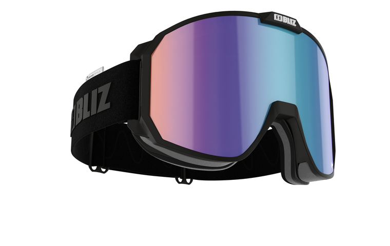 Bliz Split Nano Optics Black with Blue Multi Goggles 159.95 Enjoy Winter