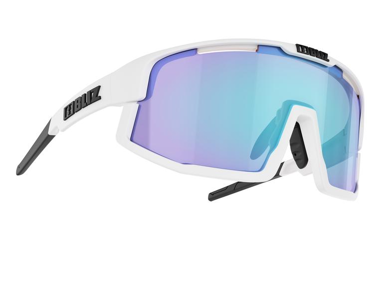 Bliz Vision, White Frame, Smoke with Blue Multi Lens Bliz™ Sunglasses 94.95 Enjoy Winter