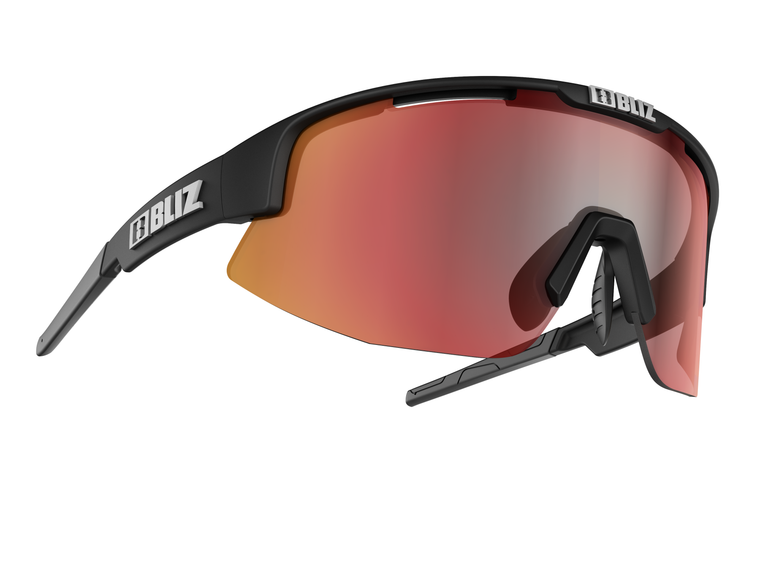 Bliz Matrix, Matte Black Frame, Brown with Red Multi Lens Bliz™ Sunglasses 84.95 Enjoy Winter