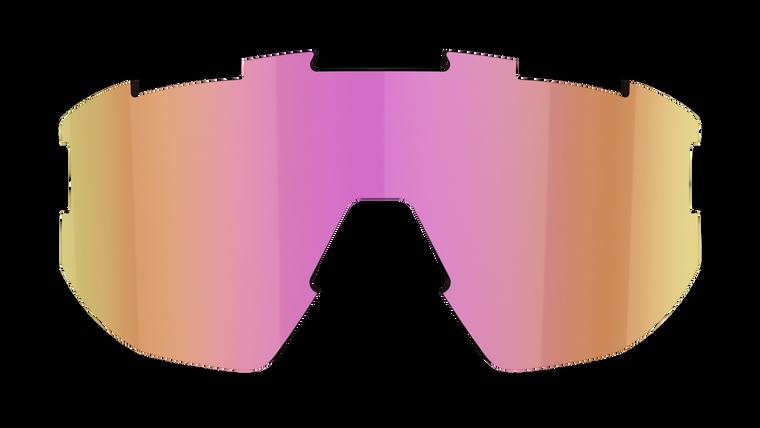 Fusion + Matrix Spare Lens - Brown with Purple Multi