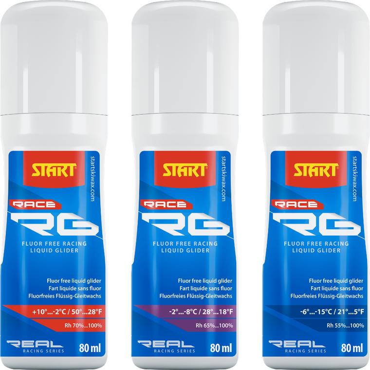 START RG RACE LIQUID GLIDER RG- Fluor Free Race Wax 48 Enjoy Winter