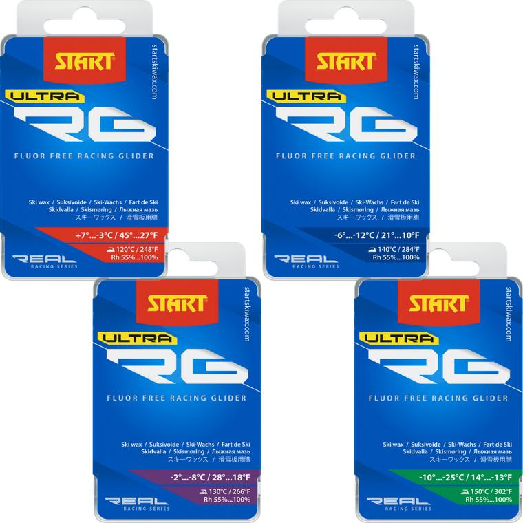 START RG ULTRA GLIDER RG- Fluor Free Race Wax 100 Enjoy Winter
