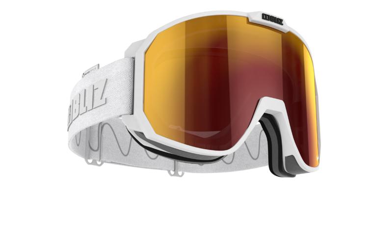 Bliz Split Nano Optics White with Red Multi Goggles 159.95 Enjoy Winter