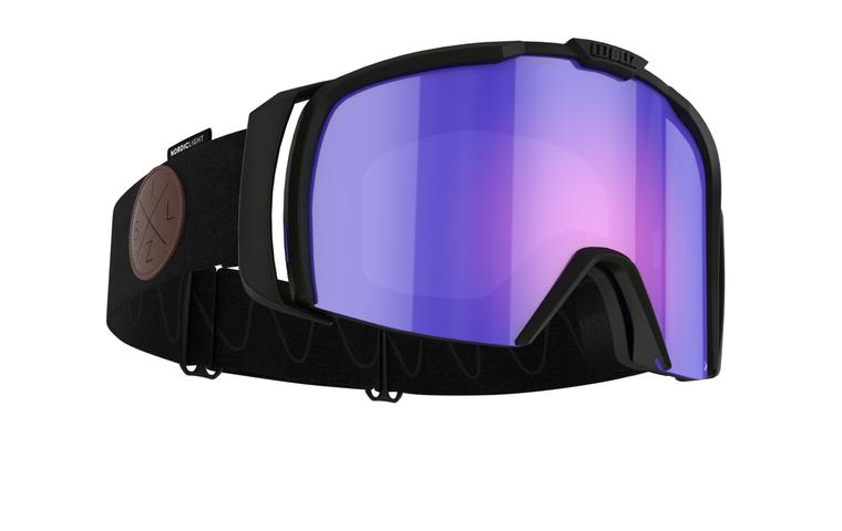 Bliz Nova Nano Optics Nordic Light, Matte Black Frame, Begonia with Blue Multi Contrast Lens Bliz 124.95 Enjoy Winter