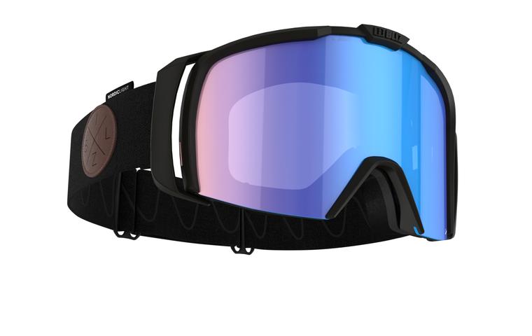 Bliz Nova Nano Optics Nordic Light, Matte Black Frame, Coral with Blue Multi Contrast Lens Bliz 124.95 Enjoy Winter