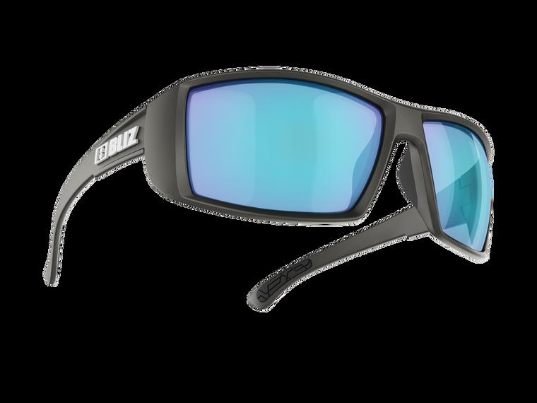 Bliz Drift Polarized, Matte Black, Brown with Silver Mirror Lens- no nbox