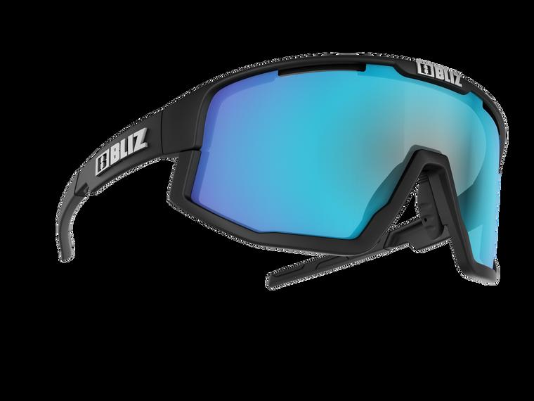 Bliz Fusion, Matte Black Frame, Smoke with Blue multi Lens NO BOX