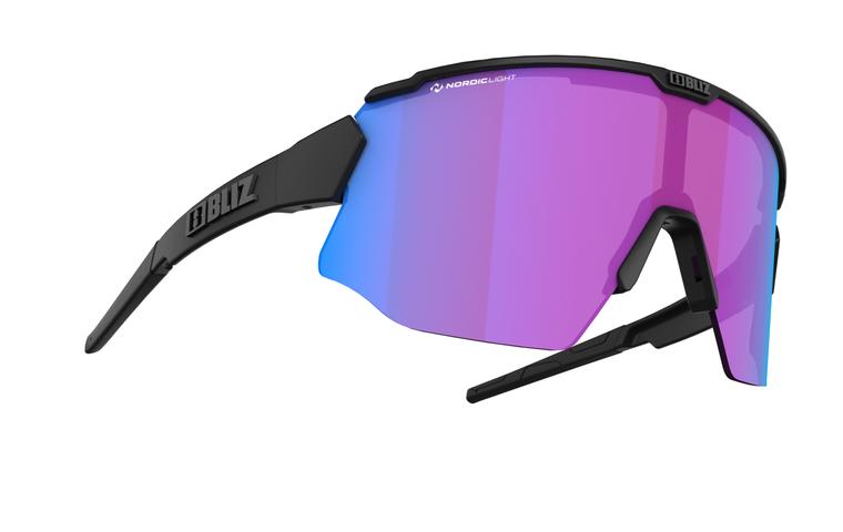 Bliz Breeze Nano Optics Nordic Light, Black Frame, Begonia with Blue Multi Contrast Lens + Spare Brown with Silver Mirror Lens Bliz™ Sunglasses 149.95 Enjoy Winter