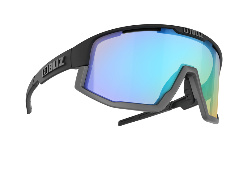 Bliz Vision Nano Optics Nordic Light, Matte Black Frame, Coral with Blue Multi Contrast Lens Bliz™ Sunglasses 124.95 Enjoy Winter