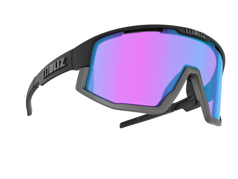 Bliz Vision Nano Optics Nordic Light, Matte Black Frame, Begonia with Blue Multi Contrast Lens Bliz™ Sunglasses 124.95 Enjoy Winter