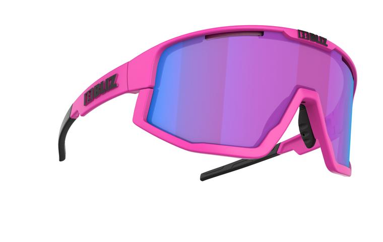 Bliz Fusion Nano Optics Nordic Light, Neon Pink Frame, Begonia with Blue Multi Contrast Lens Bliz™ Sunglasses 124.95 Enjoy Winter
