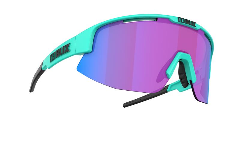 Bliz Matrix Nano Optics Nordic Light, Celeste Frame, Begonia with Blue Multi Contrast Lens Bliz™ Sunglasses 104.95 Enjoy Winter