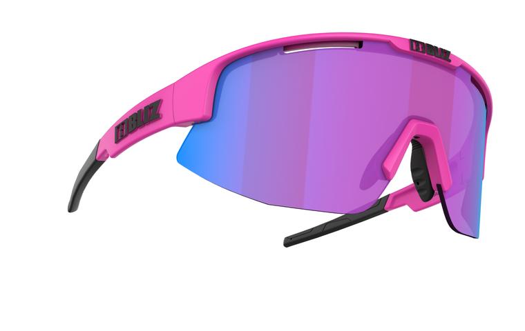 Bliz Matrix Nano Optics Nordic Light, Neon Pink Frame, Begonia with Blue Multi Contrast Lens Bliz™ Sunglasses 104.95 Enjoy Winter