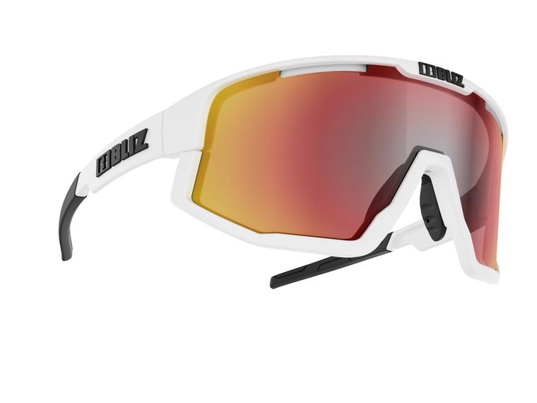 Bliz Fusion, White Frame, Smoke with Red Multi Lens Bliz SS21 Active 94.95 Enjoy Winter