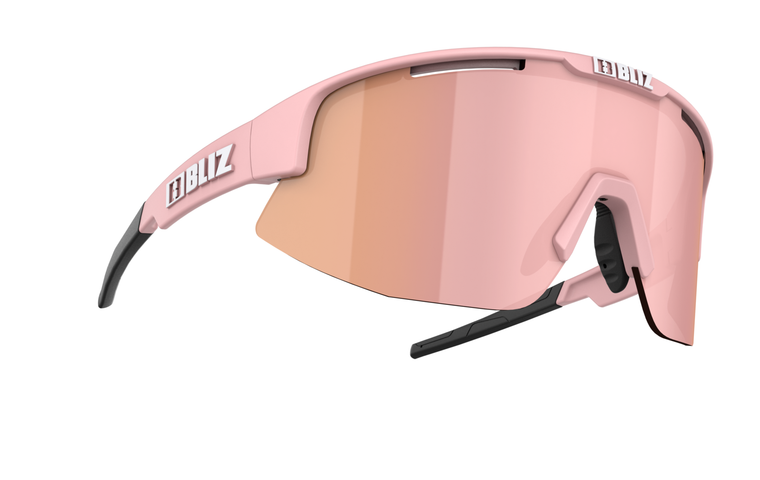Bliz Matrix, Matte Powder Pink Frame, Brown with Rose Multi Lens Bliz SS21 Active 84.95 Enjoy Winter