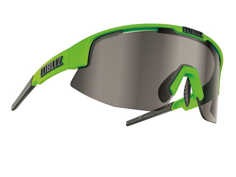 Bliz Matrix, Matte Lime Green Frame, Smoke with Silver Mirror Lens Bliz SS21 Active 84.95 Enjoy Winter
