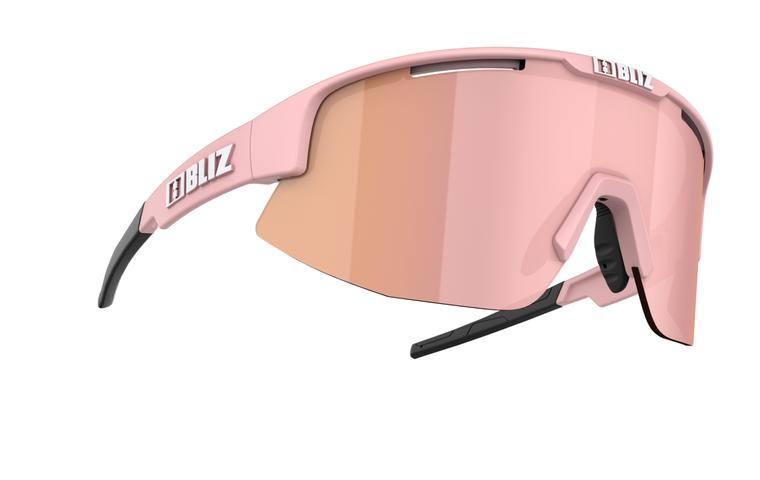 Bliz Matrix Small Face, Matte Powder Pink Frame, Brown with Rose Multi Lens Bliz SS21 Active 84.95 Enjoy Winter