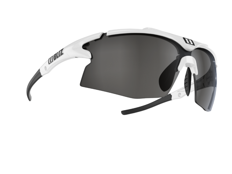 Bliz Tempo, White, Smoke with Silver Mirror Lens Tempo 94.95 Enjoy Winter