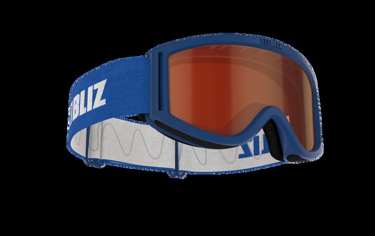 Bliz Pixie, Blue Frame, Orange Single Lens