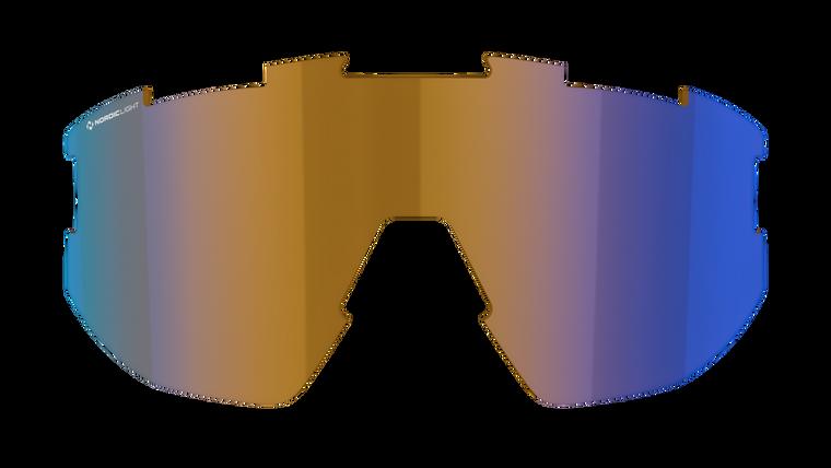 Matrix Small Spare Lens - Nano Optics Nordic Light Coral with Blue Multi Contrast Lens