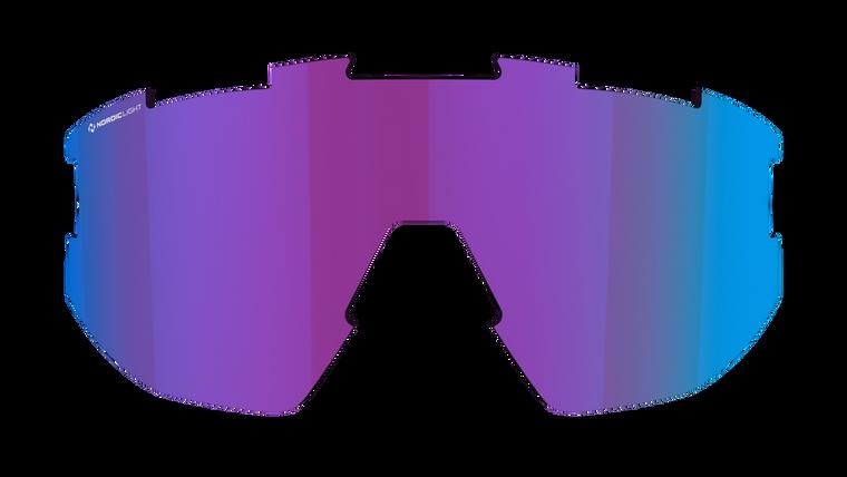 Matrix Small Spare Lens - Nano Optics Nordic Light Begonia with Blue Multi Contrast Lens