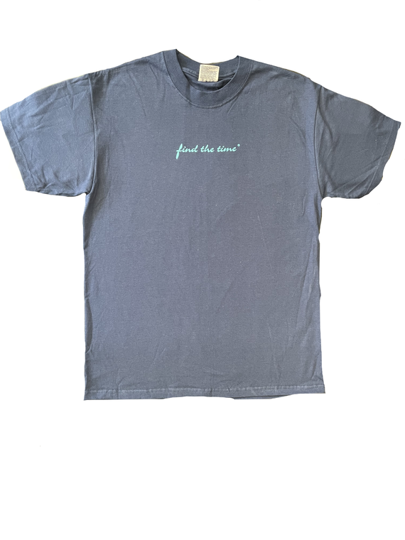 Find the Time Dark Blue t-shirt