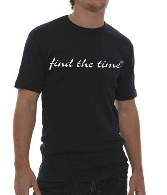 Find the Time Fitted t-shirt